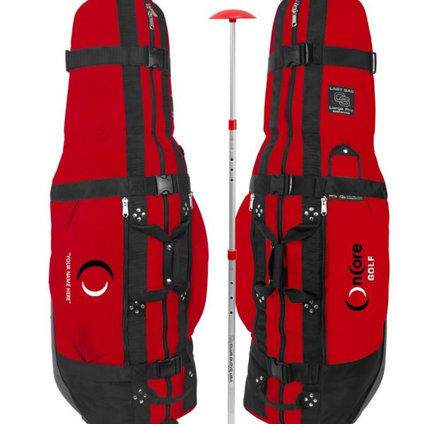 Custom OnCore Golf Travel Bag - Red