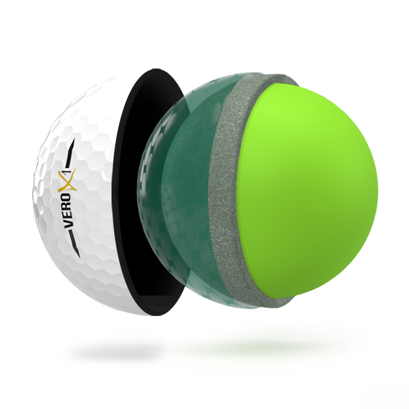 VERO X1 Golf Ball - 4-Piece Construction